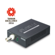 Planet LRP-101CE nagy távolságú Ethernet over Coax adapter PoE kimenettel. Vevő