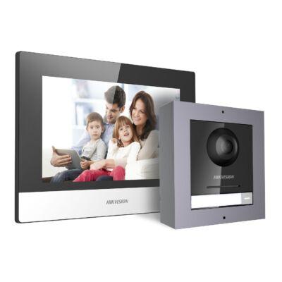 Hikvision DS-KIS602 IP video kaputelefon szett, vandálbiztos kültéri egységgel