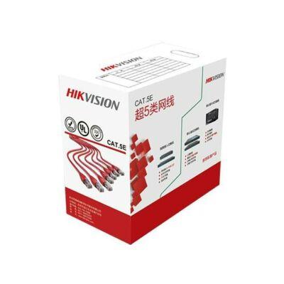 Hikvision DS-1LN5E-S UTP Cat5e kábel, 0.5mm tömör réz érrel. 305m/doboz