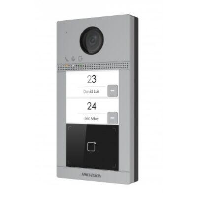 Hikvision DS-KV8213-WME1 IP video kaputelefon kütéri egység, kétlakásos, WiFi