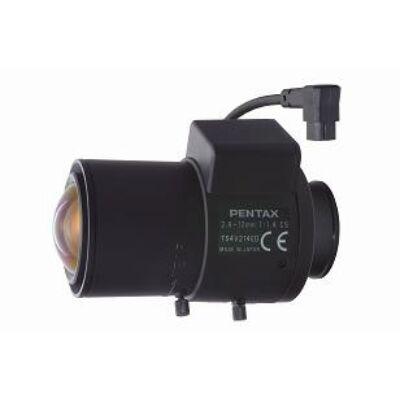 "PENTAX TS4V214ED(HK) Varifokális 2,8-12mm (93,29fok - 23,50fok), F/1.4 1/3"" CS m"