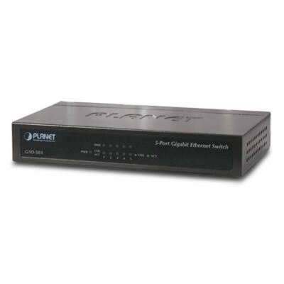 Planet GSD-503 5-Port Gigabit Ethernet switch