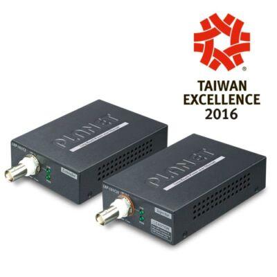 Planet LRP-101C-KIT nagy távolságú Ethernet over Coax adapter.Adó - vevő egység