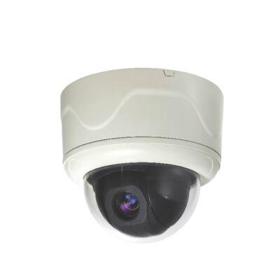 GSP GHSD-IP7410D Beltéri IP PTZ kamera, MPEG4, 25FPS D1 felbontásban, 10x optika