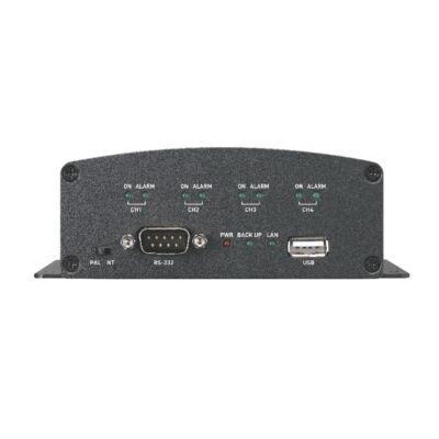 GSP GNS-400 4 csatornás IP video szerver, MPEG4, 50FPS/4ch D1 felbontásban, 100F
