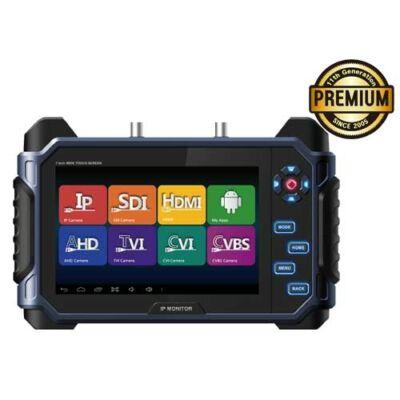 """SeeEyes SC-IPM07HD hordozható 7"""" HD univerzális szervizmonitor.IP,AHD,SDI,HDMI"""
