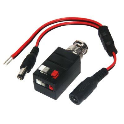 Folksafe FS-HDA4501T 1 CH aktív HD-CVI/TVI/AHD video balun adó szorító érintk.