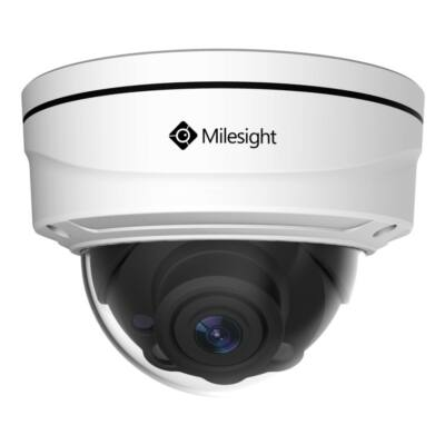 Milesight MS-C5372-FIPB 5MP kültéri motorzoom optikás Pro dome kamera, 3~10.5mm