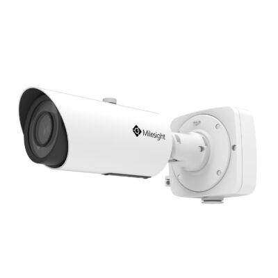 Milesight MS-C5362-FIPB 5MP kültéri motorzoom optikás Pro csőkamera, 3~10.5mm
