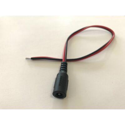 Folksafe DCFC30 szerelt tápcsatlakozó aljzat 30cm vezetékkel