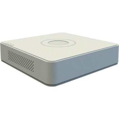 Hikvision DS-7104HQHI-K1 (S) 4 csatornás 4MP TurboHD DVR + 6CH 6MP IP