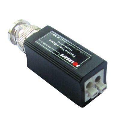 Folksafe FS-HDP4100T 1 CH passzív HD-CVI/TVI/AHD video balun adó szorító érintk.