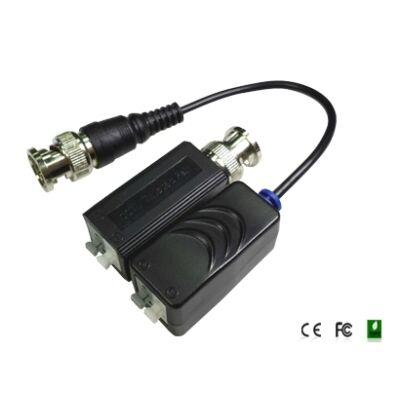 Folksafe FS-HDP4100C 1CH passzív HD-CVI/TVI/AHD video balun adó-vevő, szor.érint